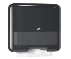 Tork dozownik mini do ręczników Singlefold /C-fold (w składce ZZ i składce C) Czarny