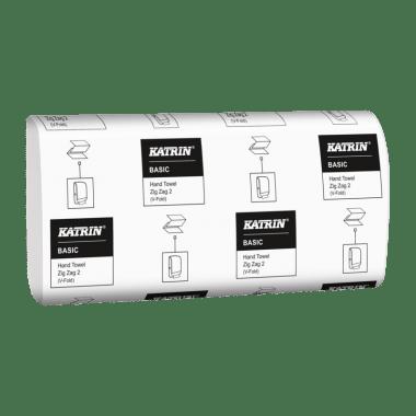"""Katrin Ręczniki papierowe składane """"V"""" Katrin Basic Hand Towel Zig Zag 2"""