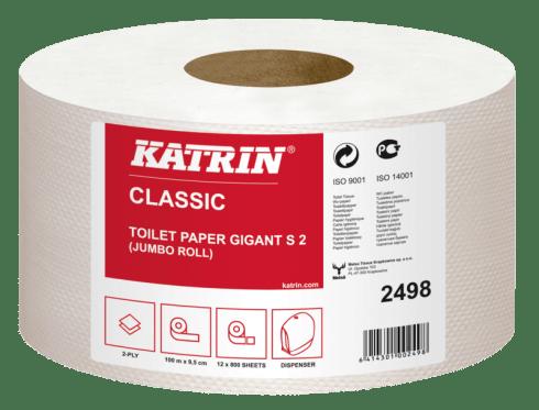 Katrin Papier toaletowy jumbo Katrin Classic Gigant Toilet S2