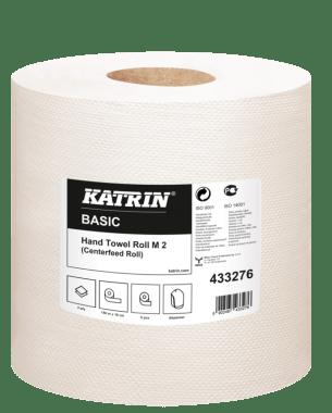 Katrin Ręczniki centralnie dozowane Katrin Basic Hand Towel Roll M2 150