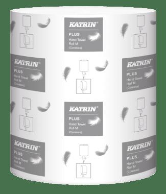 Katrin Ręczniki centralnie dozowane Katrin Plus Hand Towel Roll M Coreless Low Pallet