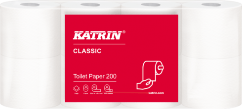 Katrin Papier toaletowy standard Katrin Classic Toilet 200