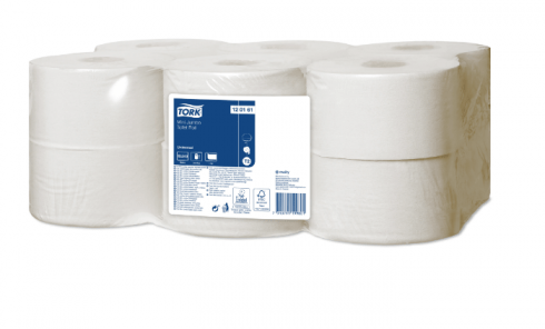 Tork papier toaletowy mini jumbo Universal, 1-warstwowy