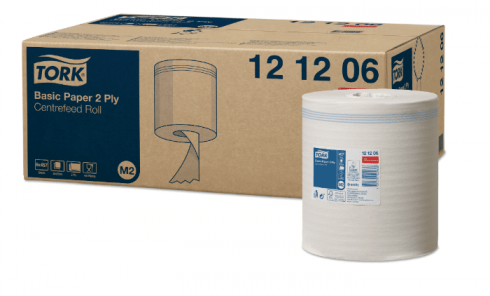 Tork ręcznik papierowy centralnego dozowania do podstawowych zadań 2-warstwowe