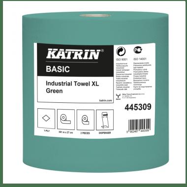 Katrin Czyściwa przemysłowe papierowe Katrin Basic Industrial Towel XL 361 Green
