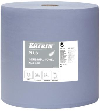 Katrin Czyściwa przemysłowe papierowe Katrin Plus Industrial Towel XL3 Blue