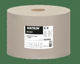 Katrin Czyściwa przemysłowe papierowe Katrin Basic Industrial Towel L 1200 Low Pallet