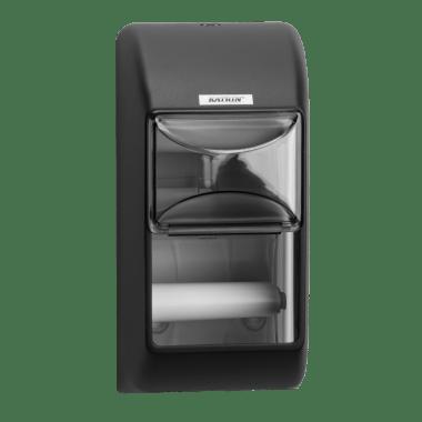 Katrin Dozownik na papier toaletowy standard Katrin Toilet 2-Roll Dispenser - Black