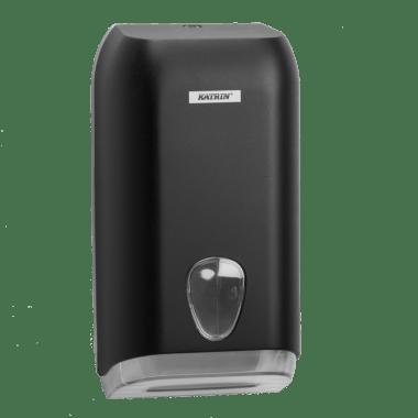 Katrin Dozownik na papier toaletowy standard Katrin Folded Toilet Tissue Dispenser - Black